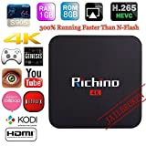 Richino Q2 Pro Android 5.1 TV Box (Amlogic S905 Kodi 16.0 Quad Core 1GB/8GB Wifi, 1080P, 4K Smart Media Player)