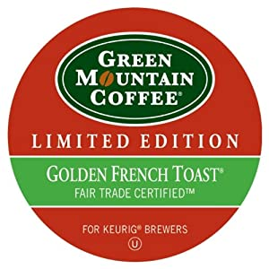 Green Mountain Coffee Fair Trade Golden French Toast, K-cups For Keurig Brewers, 24-count 8.8 Ounce Box