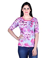 Kally Women's Round Neck Top (tp_7503, Large)