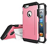 iPhone 6 Plus Case, Obliq [Card Kickstand] iPhone 6 Plus (5.5) Case [SkyLine Pro][Pink] Armor Slim Fit Dual Layer Hard Case Cover - Best Apple iPhone 6 Plus Case for 5.5 Inch (2014)-(Does NOT fit iPhone 5 5S 5C 4 4s or iPhone 6 4.7 inch screen)