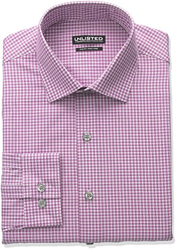 unlisted-by-kenneth-cole-reaction-mens-slim-fit-check-spread-collar-dress-shirt-raspberry-16-165neck