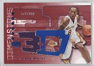 Kobe Bryant #572 999 Los Angeles Lakers, Sacramento Kings (Basketball Card) 2003-04... by Upper Deck Triple Dimensions