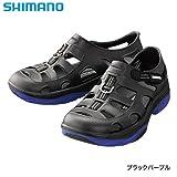 シマノ イヴェアーマリーンフィッシングシューズ FS-091I ブラックパープル
