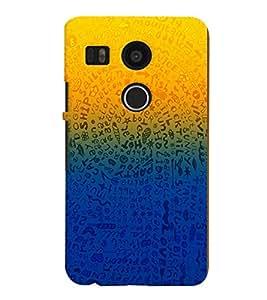 PRINTVISA Abstarct Pattern Case Cover for LG Google Nexus 5X::LG Google Nexus 5X (2nd Gen)