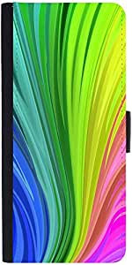 Snoogg Colourful Centric Pattern 2439 Designer Protective Phone Flip Case Cover For Coolpad Note 3 Lite