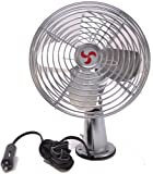 Heavy Duty All Metal Auto Fan 12V with Switch