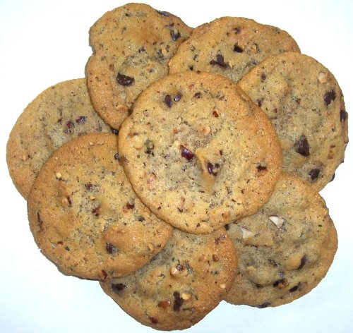 Scott'S Cakes Chocolate Chip Cookies With Hazelnuts In A 1 Pound Coffee Break Bag