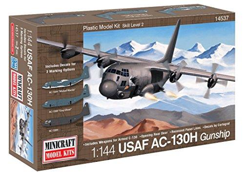 C-130H Usaf Hercules Gunship 1/144 Scale (Ac 130 Gunship Model compare prices)