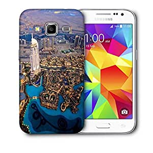 Snoogg Night View From Top Printed Protective Phone Back Case Cover For Samsung Galaxy CORE PRIME