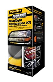 Meguiar's G3000 Heavy Duty Headlight Restoration Kit