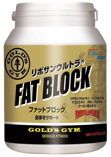 ゴールドジム GOLD'S GYM ファットブロック 300粒入り