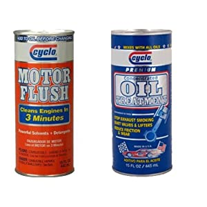 Cyclo Motor Flush & Oil Treatment combo
