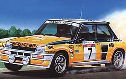 Heller - 80717 - Construction Et Maquettes - Renault R5 Turbo - Echelle 1/24ème
