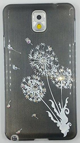 """Crystal Fashion"" Crystal Studded Lovely Flower Cartoon Hard Shell Cover For Samsung Galaxy Note 3 (Yylsz-N3-5)"