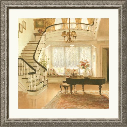 The Window Seat Framed Art Print by Lydia Dynner, 36.09 in. x 35.96 in. Framed