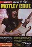 echange, troc Learn to Play - Motley Crue [Import anglais]