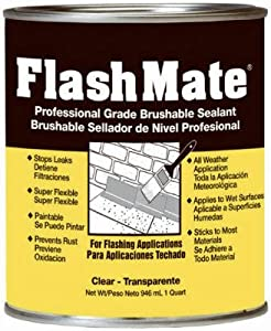 AMERIMAX HOME PRODUCTS 85229 Quart FlashMate Sealant