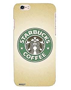 Fashion Fleaa Starbucks Coffee Case For Apple Iphone 6 Plus/6S Plus