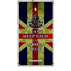 Skin4gadgets I CAN'T KEEP CALM I'm FROM DELHI - Colour - UK Flag Phone Skin for NOKIA LUMIA 925