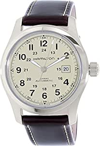 Hamilton Men's Field H70555523 Brown Leather Swiss