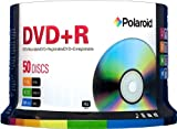 Polaroid PRDVDPR050S DVD+R 4.7GB 120-Minute 16x Recordable DVD Disc, 50-Pack Spindle
