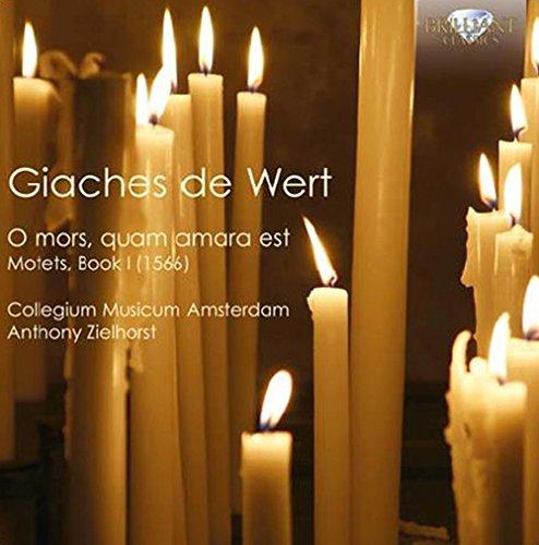 CD : Anthony Zielhorst - O Mors & Quam Amara Est (motets Book 1) (CD)