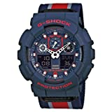 Watch Casio G-shock Ga-100mc-2aer Men´s Blue