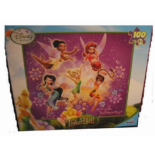 Tinker Bell 100 Piece Jigsaw Puzzle: Are You Dust Worthy? - 1