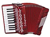 American Music Pro Kid Series Accordion - Red