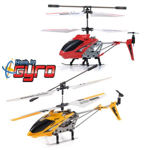 Bilder von Syma S107G 3.5 Kanal R/C ferngesteuerter Hubschrauber mit Gyro