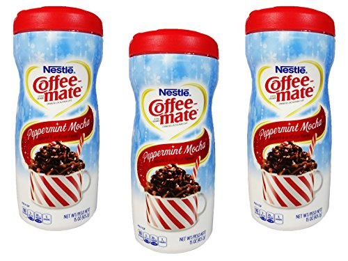 Nestle Coffee Mate Peppermint Mocha Powdered Non-Dairy ...