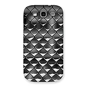 Ajay Enterprises Powerful Cage Snow Back Case Cover for Galaxy S3