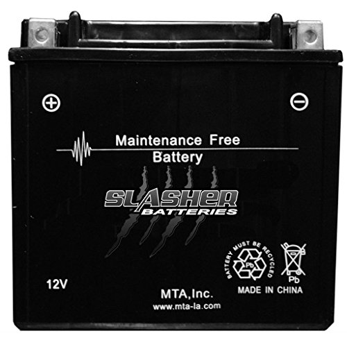 1999-2001 Yamaha Vx600 Dx Xmax, 600 Deluxe Snowmobile Sealed Maintenance Free Battery