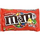 M&M'S Peanut Butter Chocolate Candies, 18.4 Ounce Packages (Pack of 4)