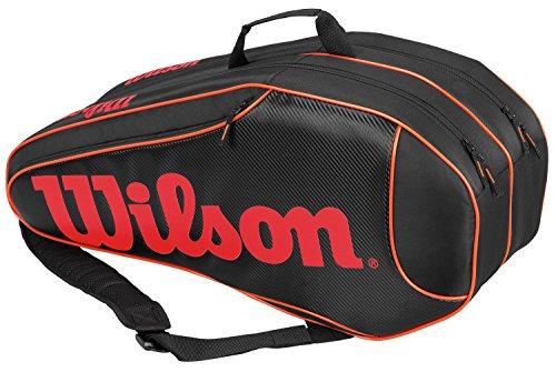 Wilson Burn Team 6 Pk Borsa, Nero/Arancione