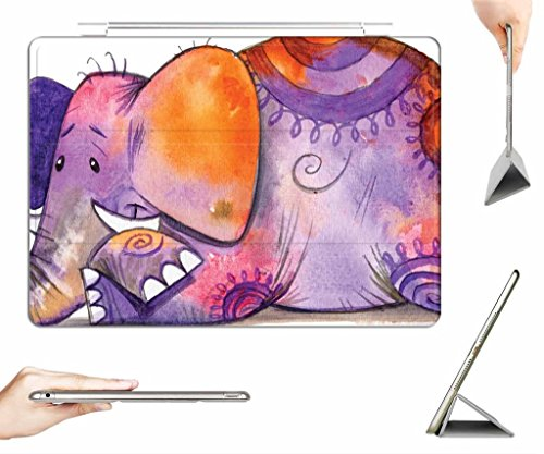 iRocket iPad Air Case + Transparent Back Cover, TYE-DYE, [Auto Wake/Sleep Function] (Tye Dye Ipad Case compare prices)