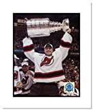 Martin Brodeur New Jersey Devils NHL Double Matted 8x10 Photograph 2003 Stanley Cup Overhead at Amazon.com