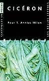 img - for Ciceron, Pour T. Annius Milon (Classiques En Poche) (French Edition) book / textbook / text book