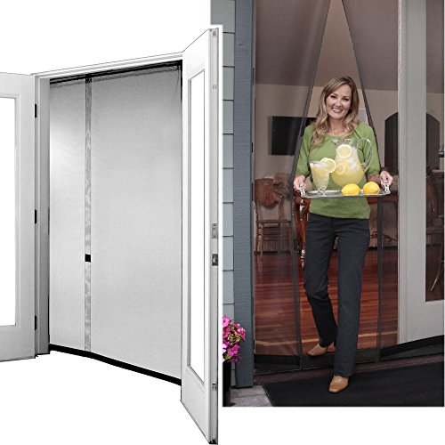 magnetic screen doors bug off mosquito 72rx96 french doors