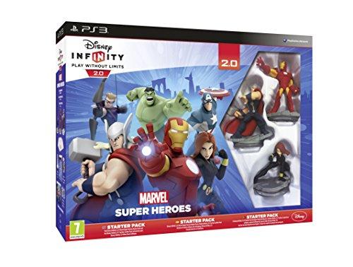 Disney Infinity 2.0 Marvel Superheroes Starter Pack (Playstation 3) [Edizione: Regno Unito]