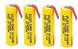 単3形 タブ付 ニカド充電池 ニカド ニッカド(カドニカ)1.2V 1000mAh 電池 AA battery 4本セット