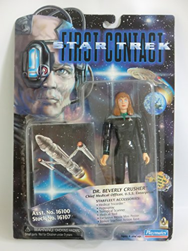 "6"" Dr. Beverly Crusher, Chief Medical Officer, U.S.S. Enterprise - Star Trek: First Contact - 1"