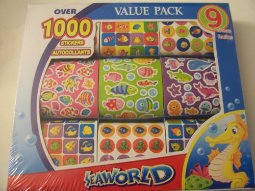 Value Pack Stickers ~ Sea Life (Over 1000 Stickers) - 1