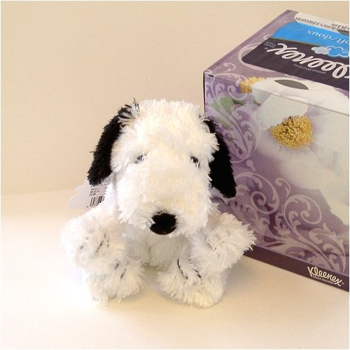 "5"" Long Snoopy Soft Plush Doll front-319028"