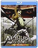 Ataque A Los Titanes - Volumen 1, Edición Combo [Blu-ray] en Castellano