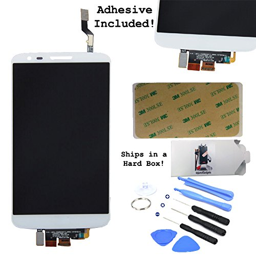White Lcd Display Touch Screen Glass Panel Digitizer Assembly Repair Part For Lg G2 D800 D801 D803 Vs980 Ls980