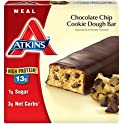 6-Pack Atkins Meal Bar Chocolate Chip Cookie Dough