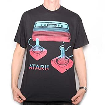 Atari T Shirt - Vintage 2600 Games Console 100% Official US Import
