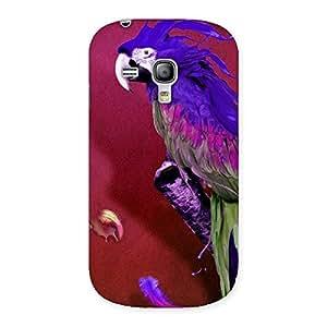 Delighted Magic Parrot Multicolor Back Case Cover for Galaxy S3 Mini