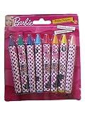 8 Barbie Wax Crayons